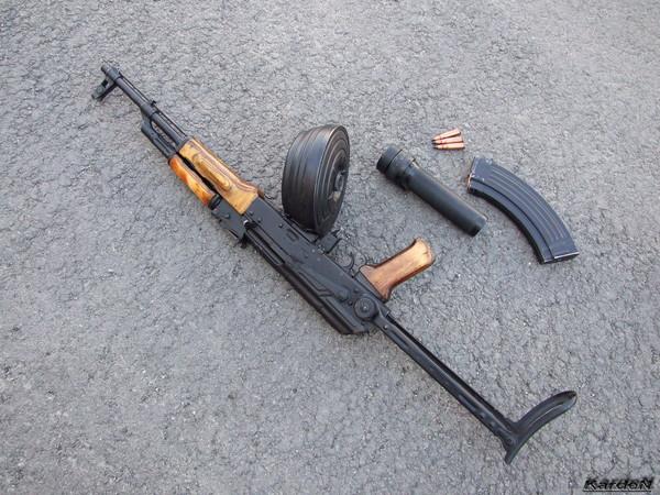 Автомат Калашникова модернизированный АКМС фото 16