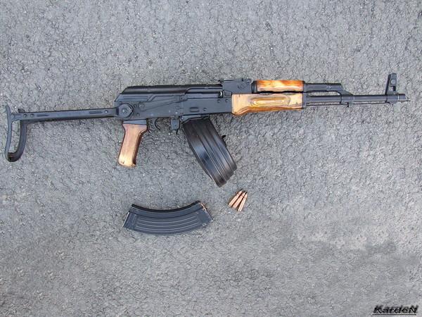 Автомат Калашникова модернизированный АКМС фото 18