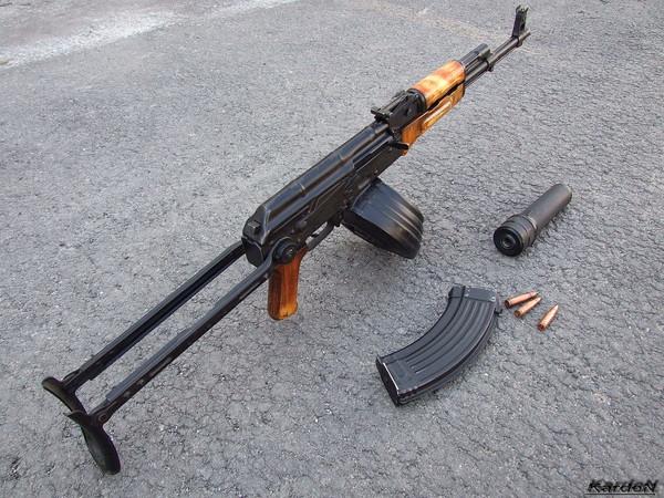 Автомат Калашникова модернизированный АКМС фото 20