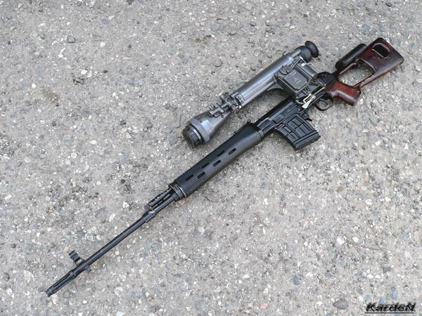 снайперская винтовка Драгунова - СВД фото 48