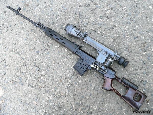 снайперская винтовка Драгунова - СВД фото 50