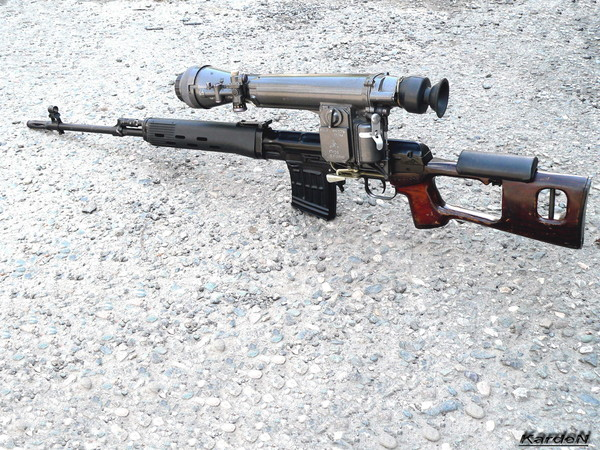 снайперская винтовка Драгунова - СВД фото 58