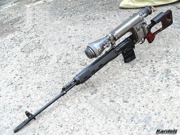 снайперская винтовка Драгунова - СВД фото 59