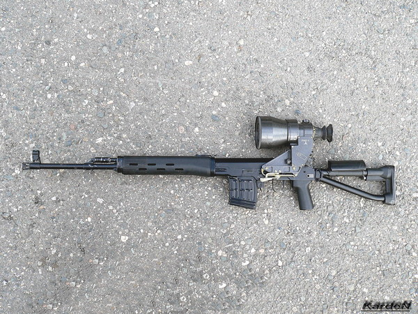 снайперская винтовка Драгунова - СВД-С фото 27