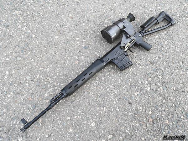 снайперская винтовка Драгунова - СВД-С фото 28