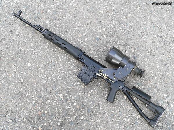 снайперская винтовка Драгунова - СВД-С фото 30