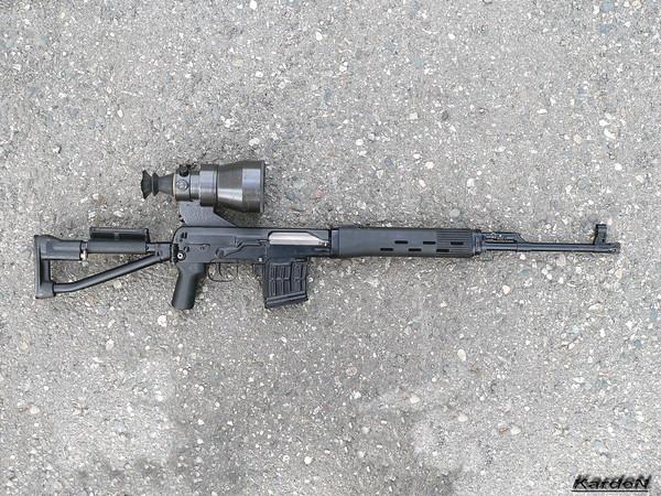снайперская винтовка Драгунова - СВД-С фото 37