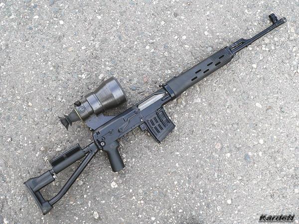 снайперская винтовка Драгунова - СВД-С фото 38