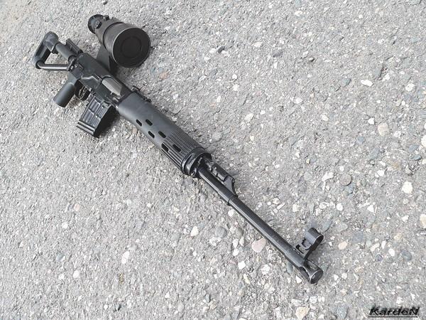 снайперская винтовка Драгунова - СВД-С фото 40