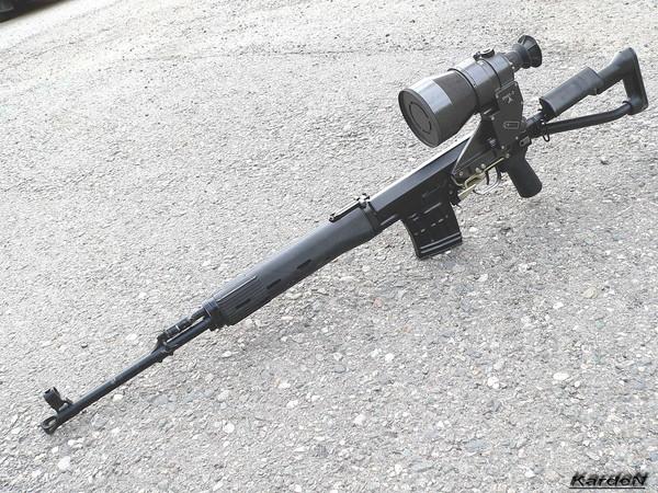 снайперская винтовка Драгунова - СВД-С фото 43