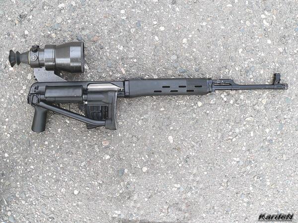 снайперская винтовка Драгунова - СВД-С фото 45