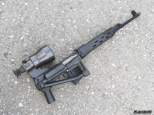снайперская винтовка Драгунова - СВД-С фото 46