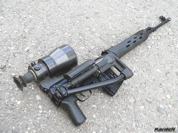 снайперская винтовка Драгунова - СВД-С фото 47