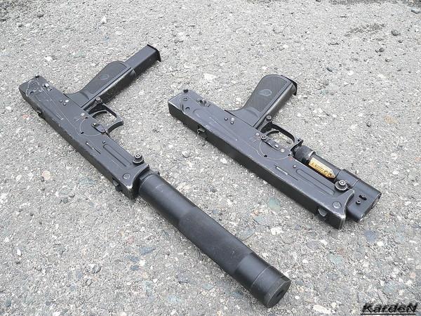 пистолет-пулемет ПП-93 фото 4