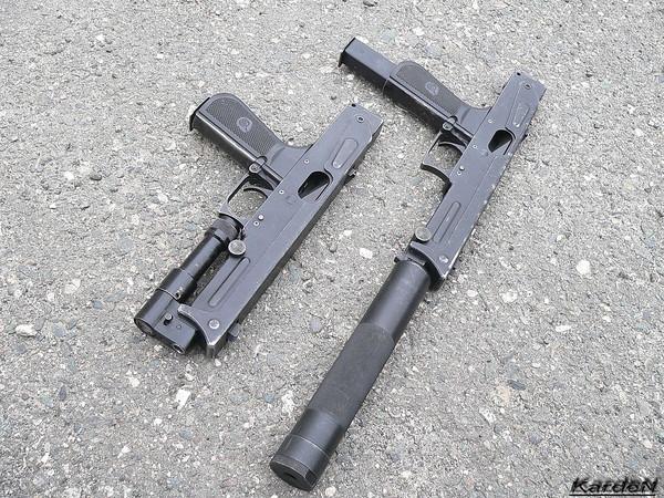 пистолет-пулемет ПП-93 фото 8
