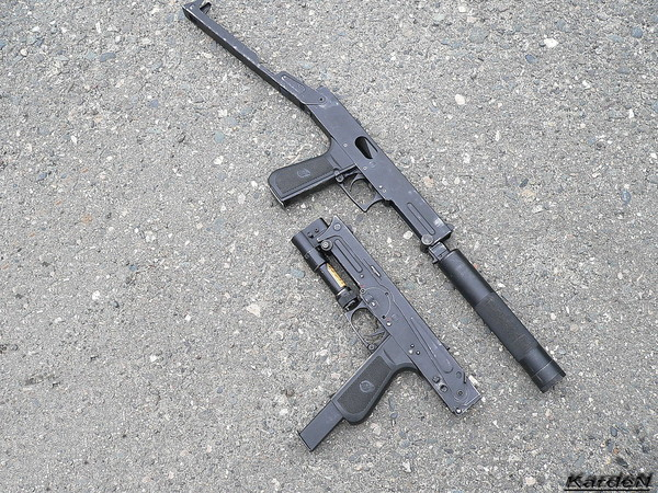 пистолет-пулемет ПП-93 фото 15