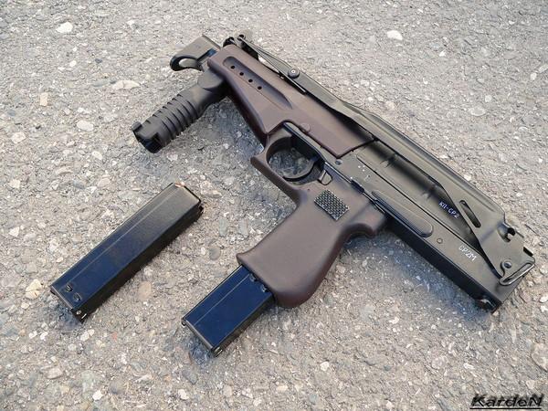 пистолет-пулемет СР 2М Вереск