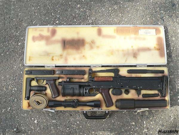 cтрелково гранатометный комплекс ОЦ-14-4А «Гроза» фото 1