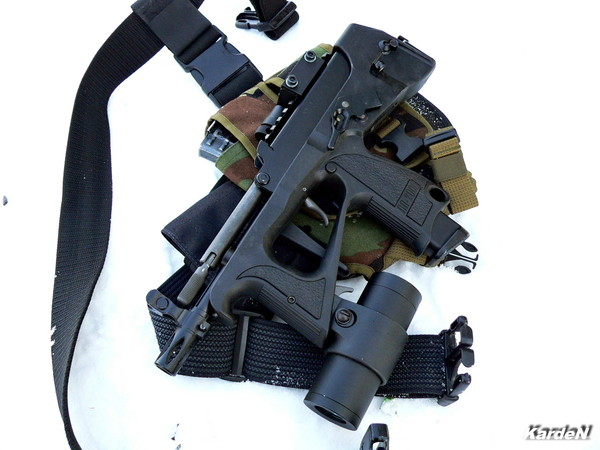 пистолет-пулемет ПП-2000 фото 2