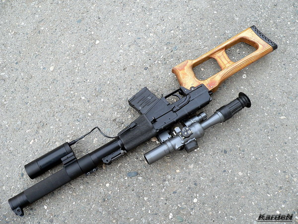 винтовка ВСС «Винторез» фото 39