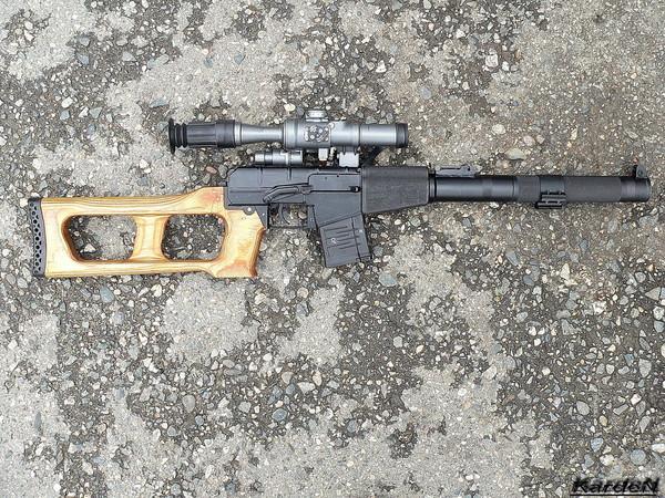 винтовка ВСС «Винторез» фото 2