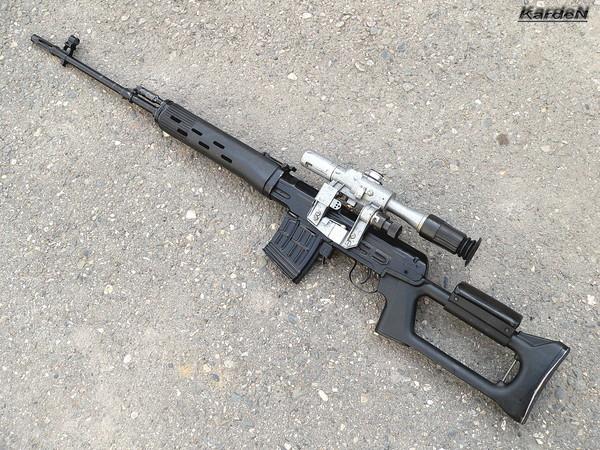 снайперская винтовка Драгунова - СВД фото 31