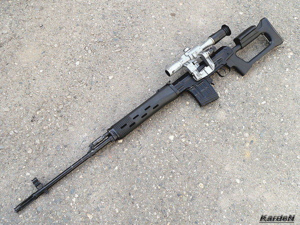 снайперская винтовка Драгунова - СВД фото 32