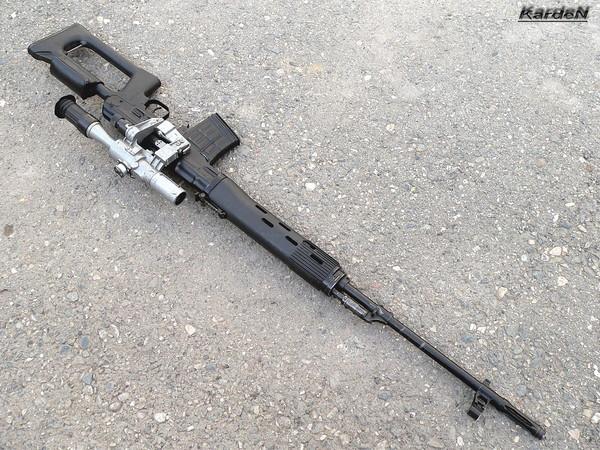 снайперская винтовка Драгунова - СВД фото 33