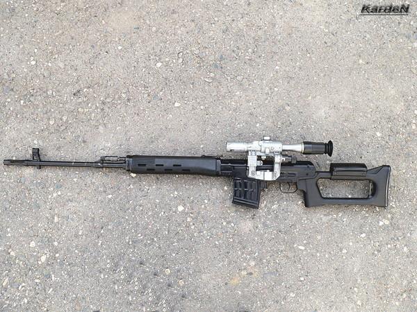 снайперская винтовка Драгунова - СВД фото 39