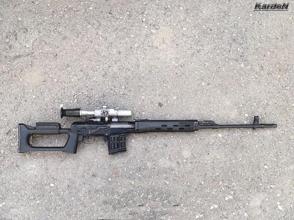 снайперская винтовка Драгунова - СВД фото 40
