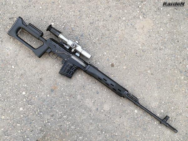 снайперская винтовка Драгунова - СВД фото 42
