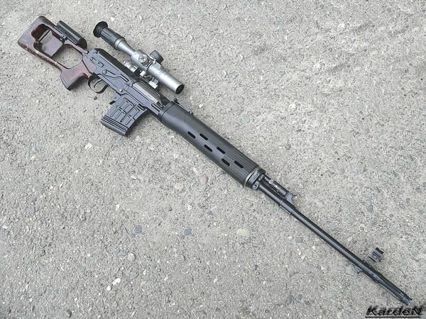 снайперская винтовка Драгунова - СВД фото 11