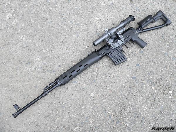 снайперская винтовка Драгунова - СВД-С фото 1