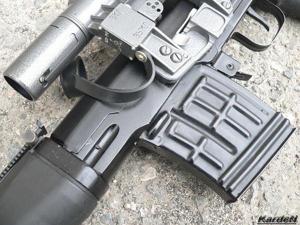 снайперская винтовка Драгунова - СВД-С фото 4