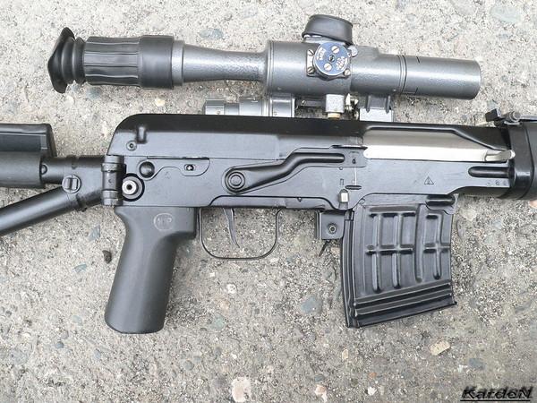 снайперская винтовка Драгунова - СВД-С фото 12