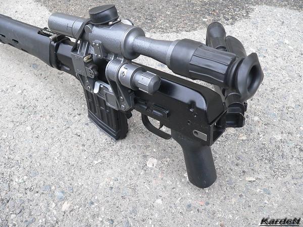 снайперская винтовка Драгунова - СВД-С фото 17