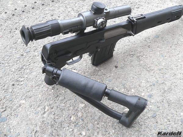 снайперская винтовка Драгунова - СВД-С фото 18