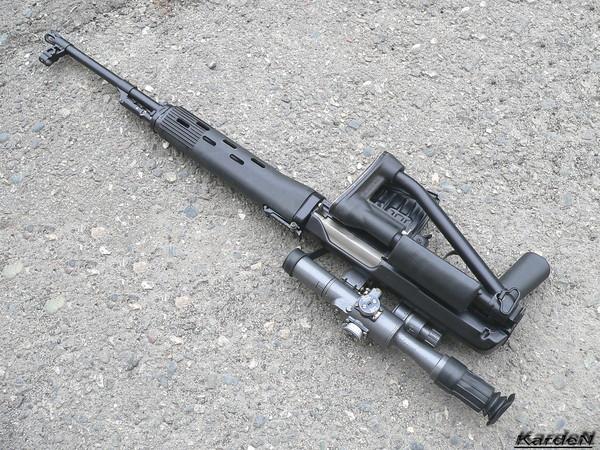 снайперская винтовка Драгунова - СВД-С фото 21