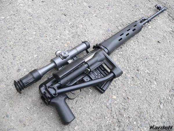снайперская винтовка Драгунова - СВД-С фото 22