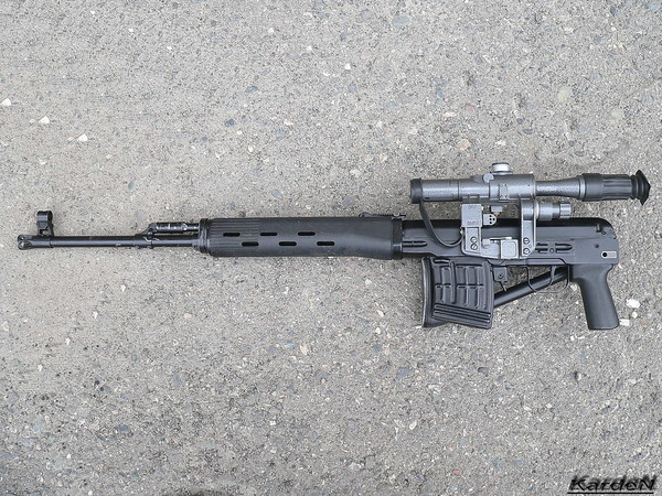 снайперская винтовка Драгунова - СВД-С фото 24