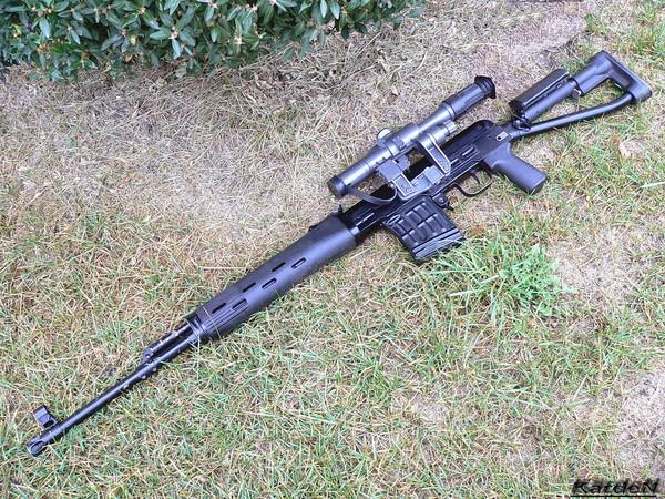 снайперская винтовка Драгунова - СВД-С фото 26