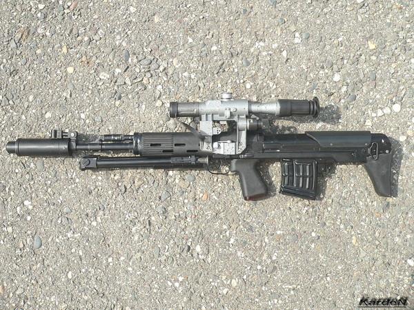 Снайперская винтовка укороченная СВУ-АС (ОЦ-03АС)