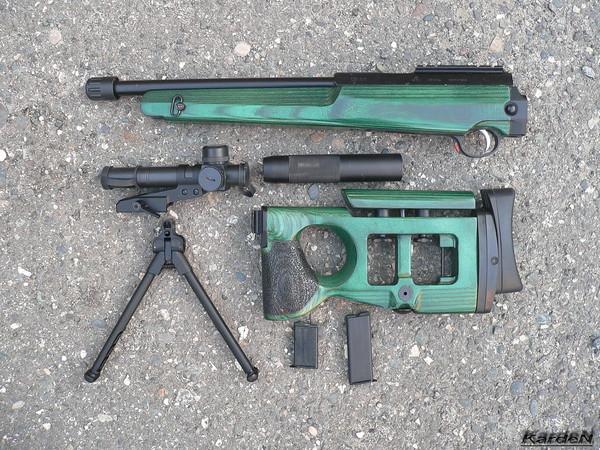 Снайперская винтовка СВ-99 фото 2
