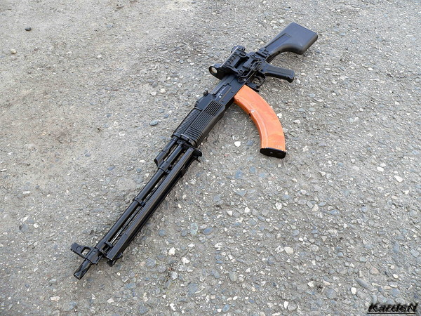 Ручной пулемет Калашникова - РПК-74М фото 15