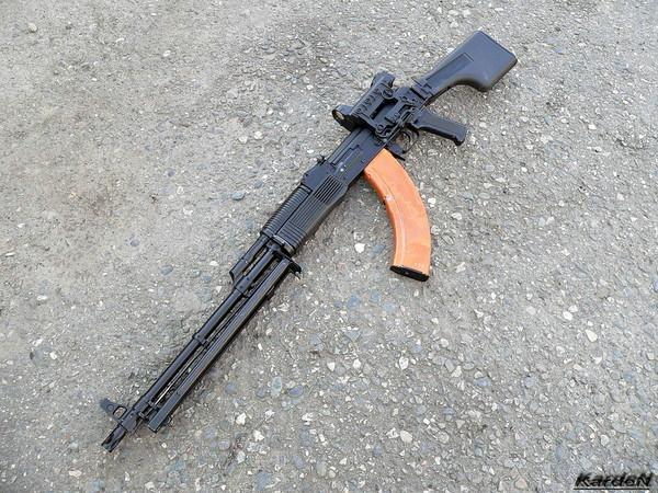 Ручной пулемет Калашникова - РПК-74М фото 17