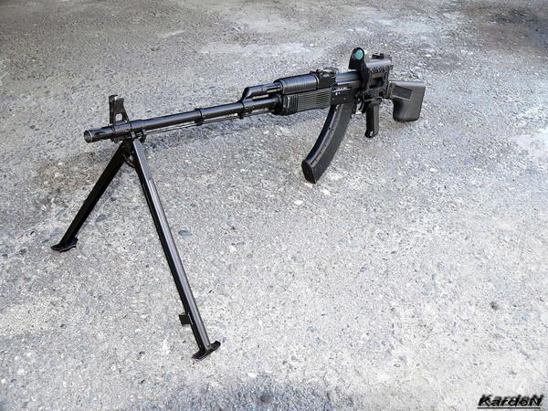 Ручной пулемет Калашникова - РПК-74М фото 2