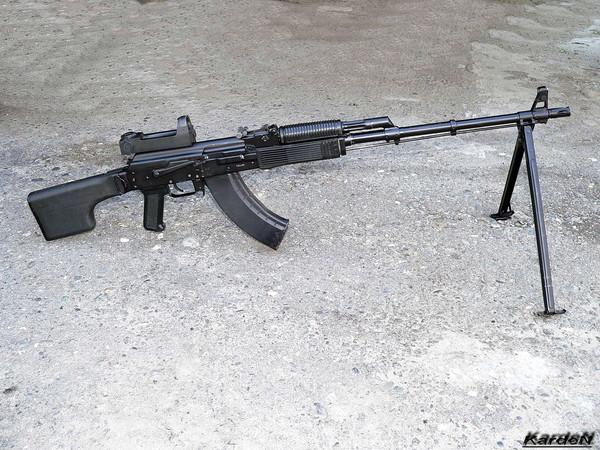 Ручной пулемет Калашникова - РПК-74М фото 5