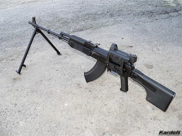 Ручной пулемет Калашникова - РПК-74М фото 7