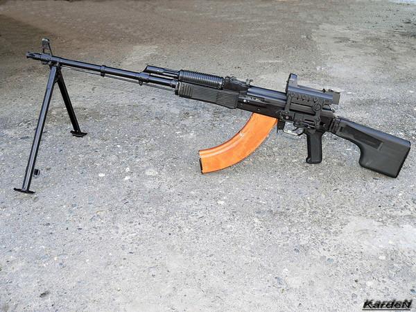 Ручной пулемет Калашникова - РПК-74М фото 8
