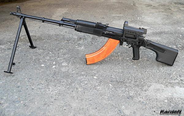 Ручной пулемет Калашникова - РПК-74М фото 9